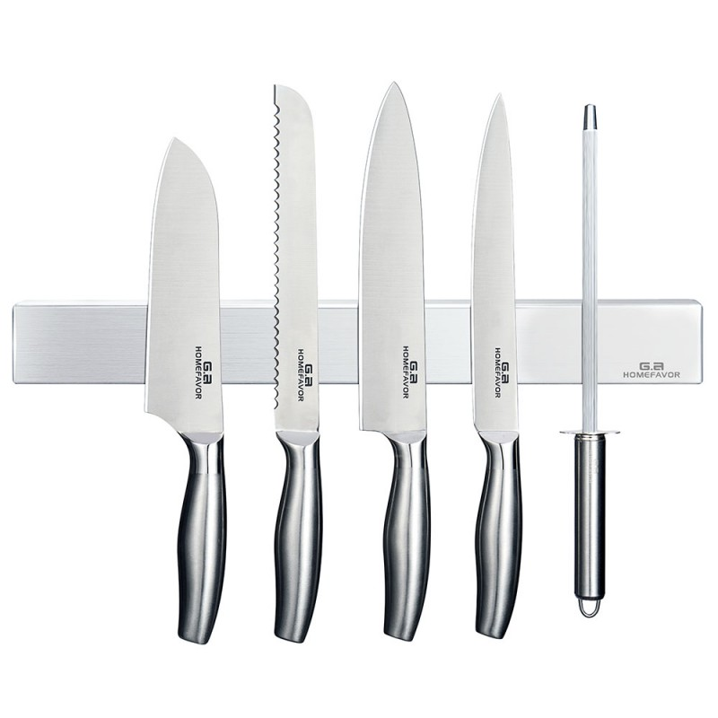G.a HOMEFAVOR Stainless steel Magnetic Knife Holder 16-Inch Magnetic Knife Strip for Tidy Kitchen