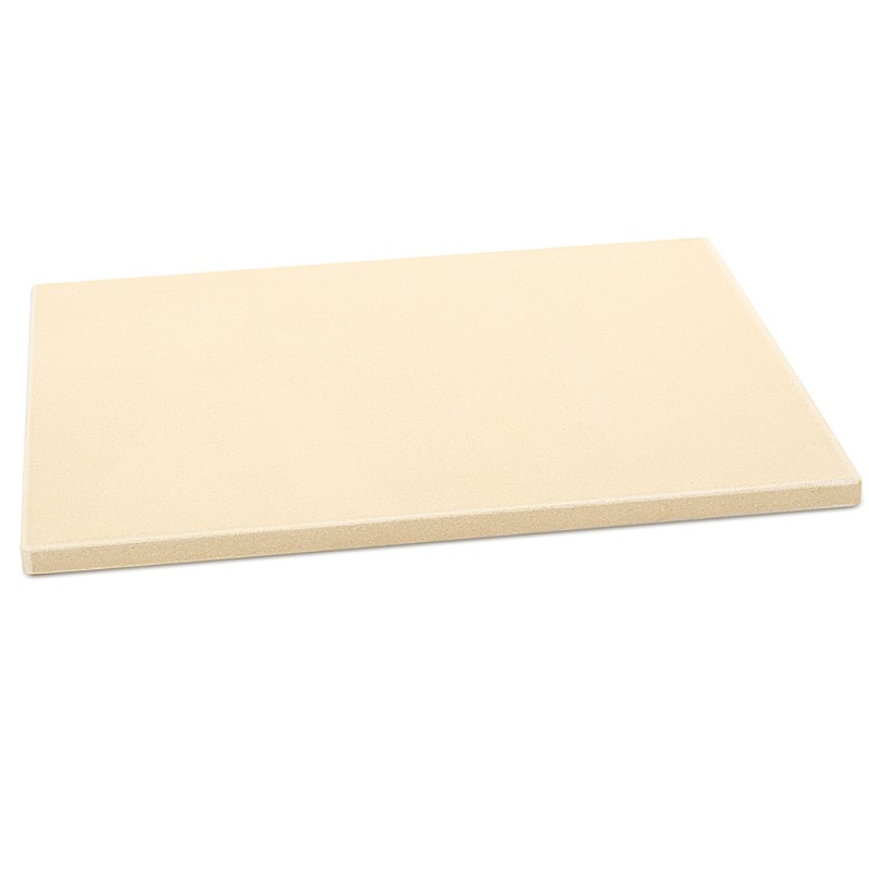 "G.a HOMEFAVOR 14.75""x11.75"" Rectangular Cordierite Pizza Stone for Oven"
